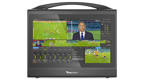 tricaster rental livestream hd550 hire webcasting vision mixer to stream london webcasting freelancer hire tricaster